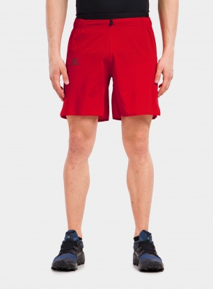Spodenki do biegania Salomon Sense Aero 7' Short - goji berry