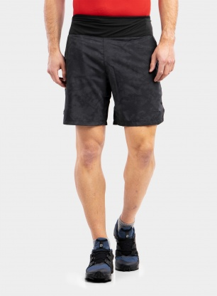Spodenki do biegania Salomon XA 7' Short - black/ao
