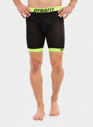 Spodenki Dynafit Ride Padded Under Shorts - black out/lime