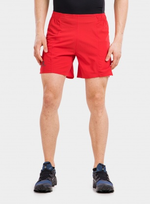 Spodenki Salomon Sense Aero Outer 6' Short - goji berry