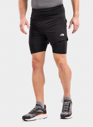 Spodenki The North Face Circadian Comp Lined Short - black