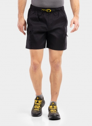 Spodenki The North Face Class V Belted Short - black/green