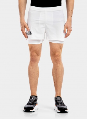 Spodenki The North Face Flight Stridelight 2in1 Short - tnf white
