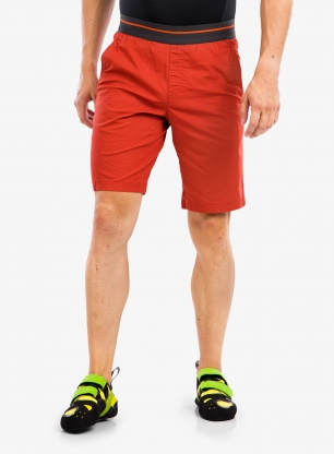Spodenki wspinaczkowe Rab Crank Shorts - red clay