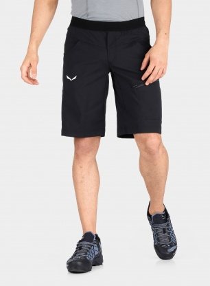 Spodenki wspinaczkowe Salewa Agner Light DST Shorts - black out