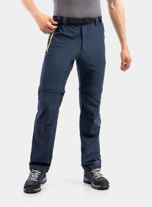 Spodnie CMP Rule Zip Off Pant Stretch Polyester - cosmo