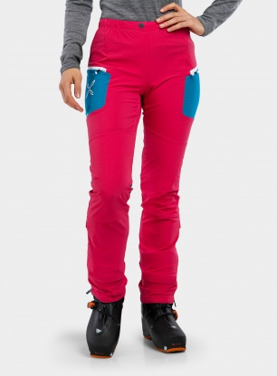 Spodnie damskie Montura Ski Style Pants - sugar rose/teal blue