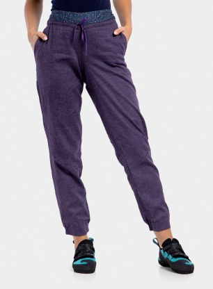 Spodnie damskie Patagonia Hampi Rock Pants - piton purple