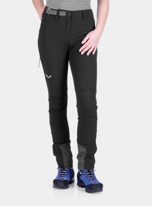 Spodnie damskie Salewa Agner Orval 2 DST Regular Pant - black out