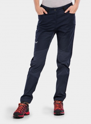 Spodnie damskie Salewa Alpine Hemp Light Pant - navy blazer