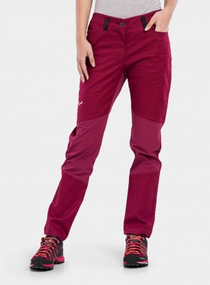 Spodnie damskie Salewa Alpine Hemp Light Pant - rhodo red
