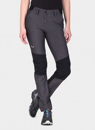 Spodnie damskie Salewa Puez Misurina Dry Pant - black out