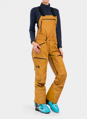 Spodnie damskie The North Face Brigandine FUTURELIGHT™ Bib - timber