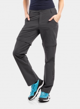 Spodnie damskie The North Face Exploration Convertible Pant - grey