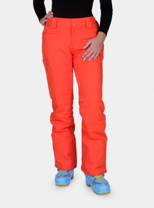 Spodnie damskie The North Face Powdance Pant Lady - fire red