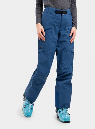 Spodnie membranowe damskie Black Diamond Sharp End Pants - night sky