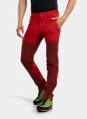 Spodnie Rab Torque Mountain Pants - ascent red/oxblood red