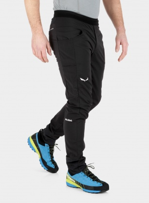 Spodnie softshell Salewa Agner Light DST Pant - black out