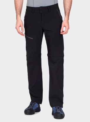 Spodnie softshellowe Salewa Puez 2 DST 2/1 Pant - black out