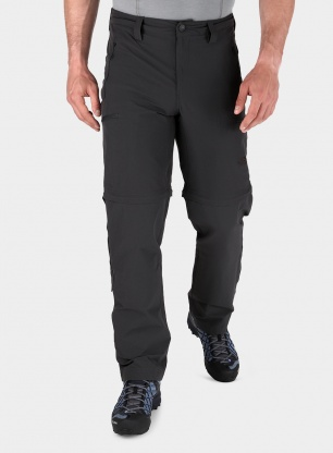 Spodnie The North Face Exploration Convertible Pant - asphalt grey