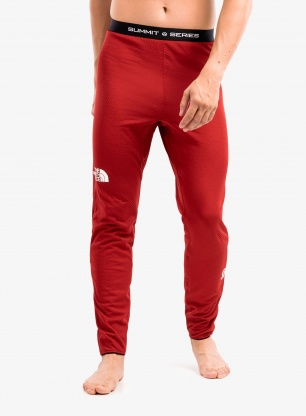 Spodnie termoaktywne The North Face Summit AMK L2 - red