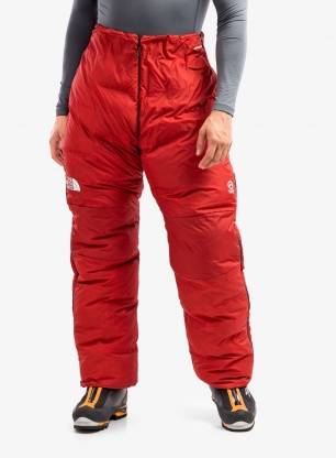 Spodnie puchowe The North Face Summit AMK L6 - red