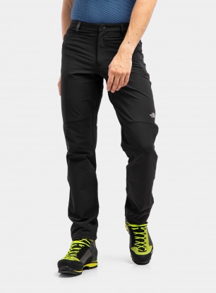 Spodnie turystyczne The North Face Quest Softshell Pant - black