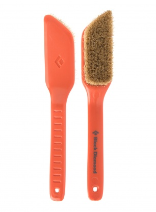 Szczotka do chwytów Black Diamond Bouldering Brush Medium - orange