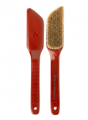 Szczotka do chwytów Black Diamond Bouldering Brush Medium - red