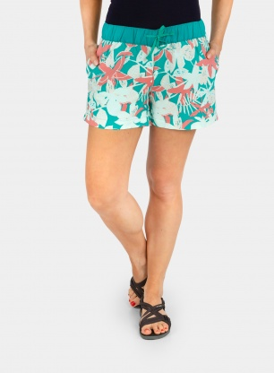 Szorty damskie The North Face Class V Short - green