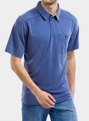T-shirt Columbia Sun Ridge II Novelty Polo - carbon