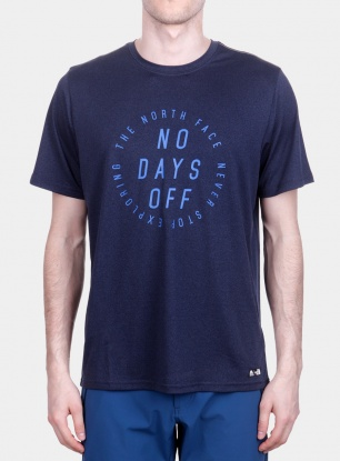 T-shirt The North Face MA Graphic Reaxion Amp Crew - navy/turkish sea