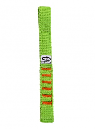 Taśma Climbing Technology Extender NY 17 cm - green/orange