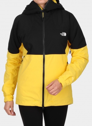 Kurtka narciarska damska The North Face Impendor Insulated NE - yellow