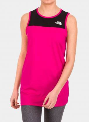 Top damski The North Face Active Trail Tank - pink