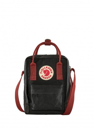 Torba Fjallraven Kanken Sling - black/ox red