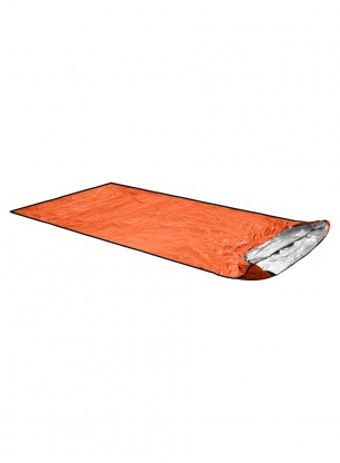 Ultralekka płachta biwakowa Ortovox Bivy Ultralight - shocking orange