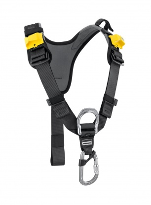 Uprząż piersiowa Petzl Top - black/yellow