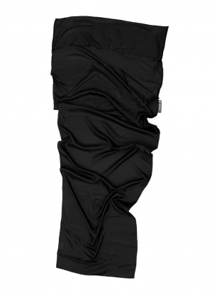 Wkładka do śpiwora Lifeventure Silk Ultimate Liner Mummy - black