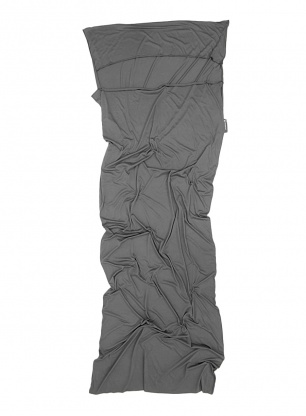 Wkładka Lifeventure Cotton Stretch Sleeping Bag Liner - grey