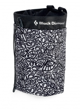 Woreczek na magnezję Black Diamond Gym Chalk Bag - cam lobe print