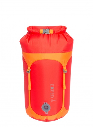Worek kompresyjny Exped Waterproof Telecompression Bag S - red