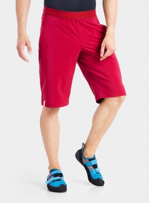 Wspinaczkowe spodenki Wild Country Curbar Shorts - ox blood