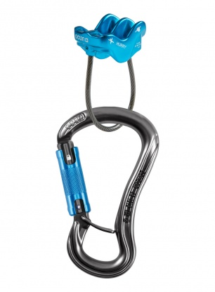 Zestaw Ocun Belay Set Condor Triple Hurry - anthracite/blue