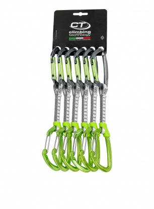 Zestaw Climbing Technology Lime-M Set Dyneema 12cm x6 - anodized