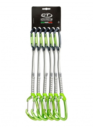 Zestaw Climbing Technology Lime-M Set Dyneema 22cm x6 - anodized