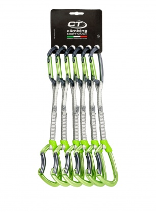 Zestaw Climbing Technology Lime Set Dyneema 17cm x6 - anodized