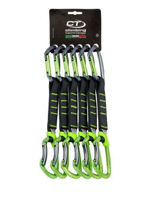 Zestaw Climbing Technology Lime Set Pro NY 17cm x6 - anodized