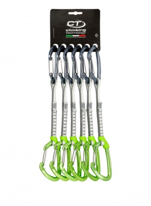 Zestaw Climbing Technology Lime-W Set Dyneema 17cm x6 - anodized