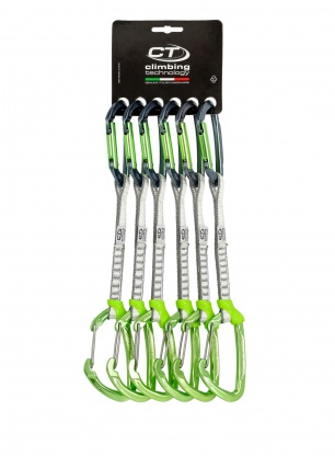 Zetaw Climbing Technology Lime-M Set Dyneema 17cm x6 - anodized